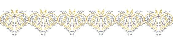 Dekorativ dekorativ beståndsdel för vektor stock illustrationer
