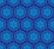 dekorativ dekorativ snowflakewallpaper Arkivbilder