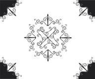 dekorativ design Royaltyfri Fotografi