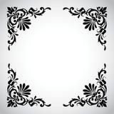 dekorativ designelementtappning Royaltyfria Bilder