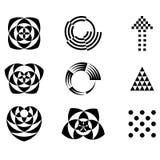 dekorativ designprydnad Arkivbilder