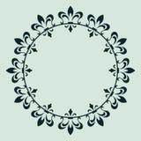dekorativ designram Arkivbilder