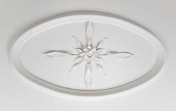 dekorativ detalj för tak arkivbilder