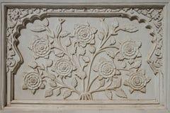 Dekorativ detalj från Bibi Ka Maqbara royaltyfria bilder