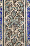 Dekorativ detalj i Alcazarslott Arkivfoton