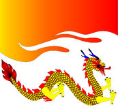 dekorativ drake Royaltyfri Fotografi