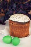 dekorativ easter för brödcake tradition Arkivfoto