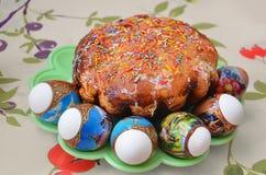 dekorativ easter för brödcake tradition Arkivfoton