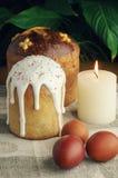dekorativ easter för brödcake tradition Royaltyfria Bilder