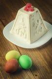 dekorativ easter för brödcake tradition Arkivbilder