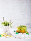 dekorativ easter för brödcake tradition Royaltyfria Foton
