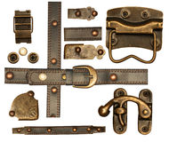 dekorativ elementmetall för samling Royaltyfri Fotografi
