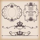 dekorativ elementtappning Royaltyfri Bild