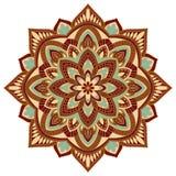 Dekorativ färgrik mandala Royaltyfri Fotografi