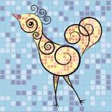 Dekorativ fågel Arkivfoto