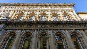 Dekorativ fasad av gatan Bristol för havre 53-55 Royaltyfri Bild