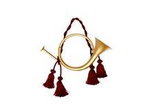 dekorativ festlig horn Royaltyfria Foton