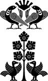 dekorativ fågel Arkivbilder