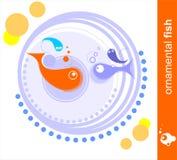 dekorativ fisk Arkivbild