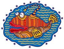 dekorativ fisk Royaltyfri Foto