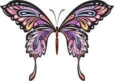 dekorativ fjäril Arkivbild