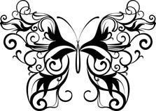 dekorativ fjäril Arkivfoton