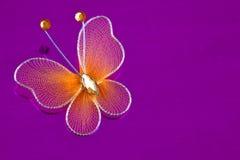 Dekorativ fjäril Arkivfoto