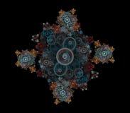 dekorativ fractal royaltyfria bilder