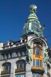 Dekorativ gammal byggnad Royaltyfri Fotografi