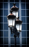 Dekorativ gammal lampa Royaltyfria Foton