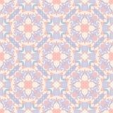 Dekorativ geometrisk sömlös modell Abstrakt bakgrundstextur för vektor retro stil Royaltyfri Bild