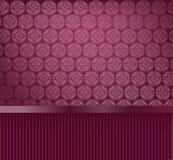 dekorativ glamourwallpaper Fotografering för Bildbyråer