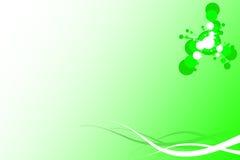 dekorativ green för bakgrund Arkivbild