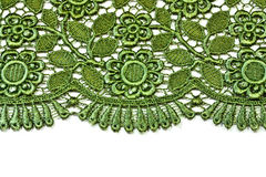 dekorativ green snör åt royaltyfri fotografi