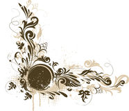 dekorativ grungevektor för baner royaltyfri illustrationer
