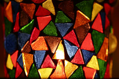 dekorativ hållare för stearinljus royaltyfri foto