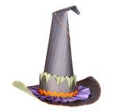 dekorativ hatt isolerade häxor arkivfoto