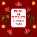 Dekorativ-Hintergrund-mit-hell-Farbe-für-Glückwünsche, - Dekoration vektor abbildung