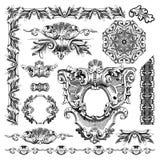Dekorativ historisk designbeståndsdel av Lviv Royaltyfri Fotografi