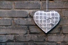 Dekorativ hjärta Royaltyfria Bilder