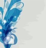 Dekorativ idérik bakgrund Royaltyfria Bilder