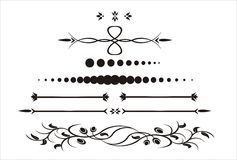 dekorativ illustration royaltyfri illustrationer