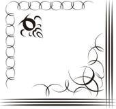 dekorativ illustration Royaltyfri Fotografi