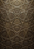 Dekorativ islamisk Wood konst Arkivbild