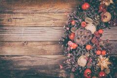 Dekorativ julkran Arkivfoto