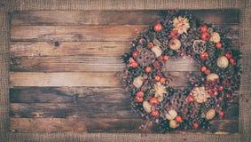 Dekorativ julkran Arkivfoton