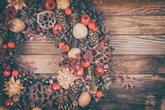 Dekorativ julkran Arkivbild