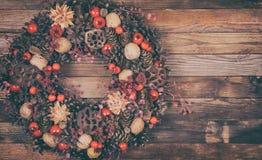 Dekorativ julkran Arkivbilder