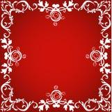 dekorativ kant royaltyfri illustrationer