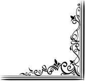 dekorativ kant vektor illustrationer